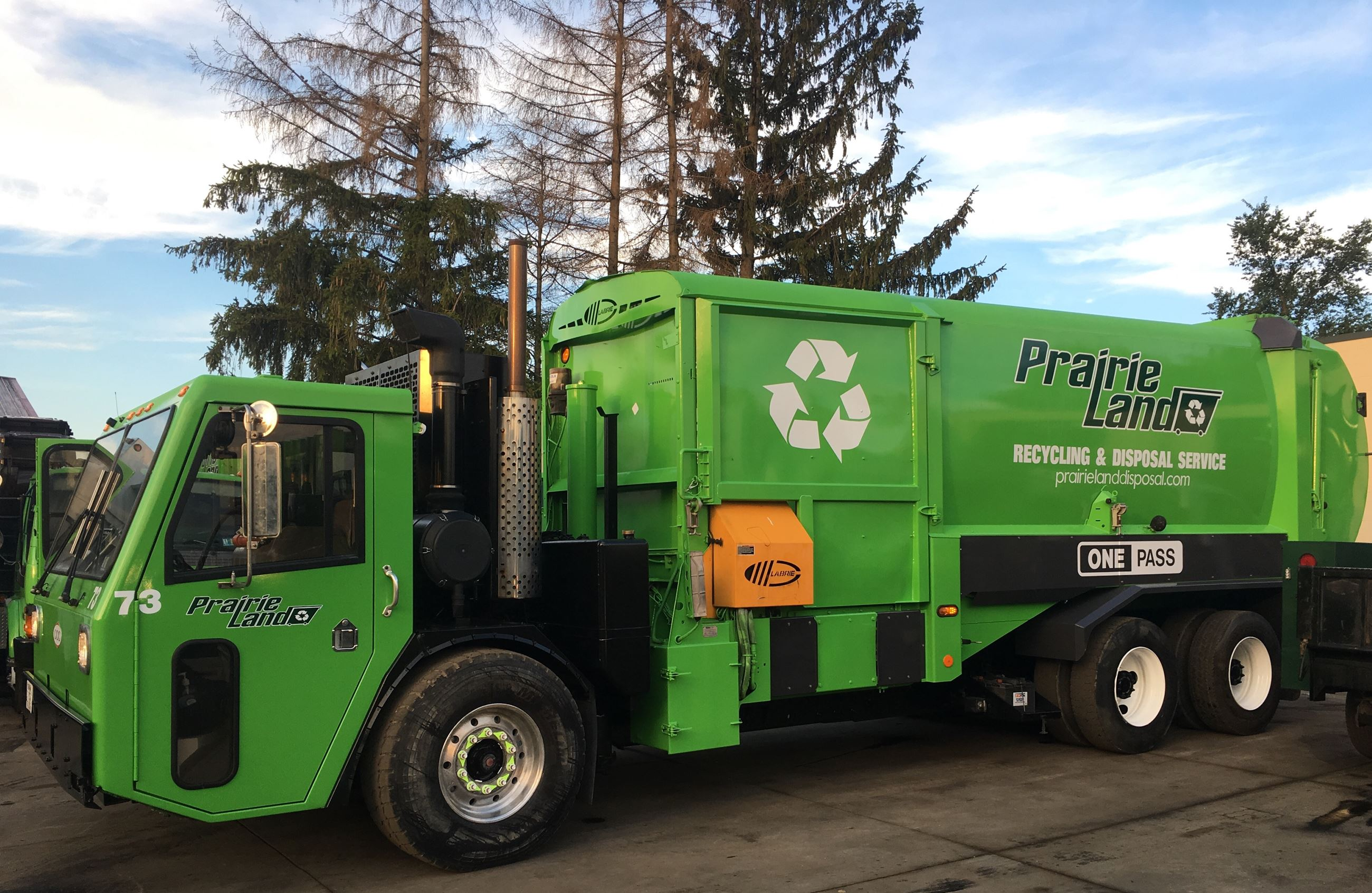 Prairieland Disposal Truck