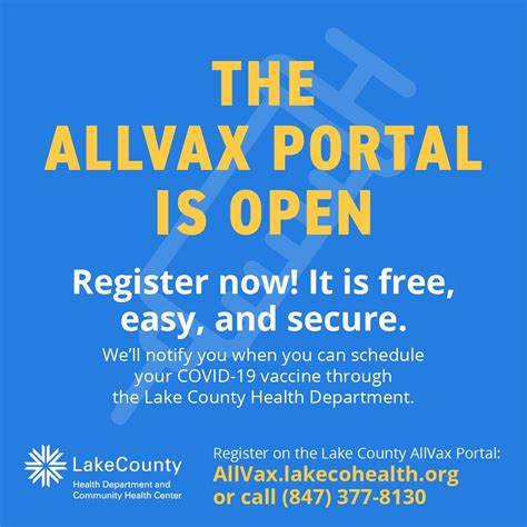 Lake County Allvax Portal