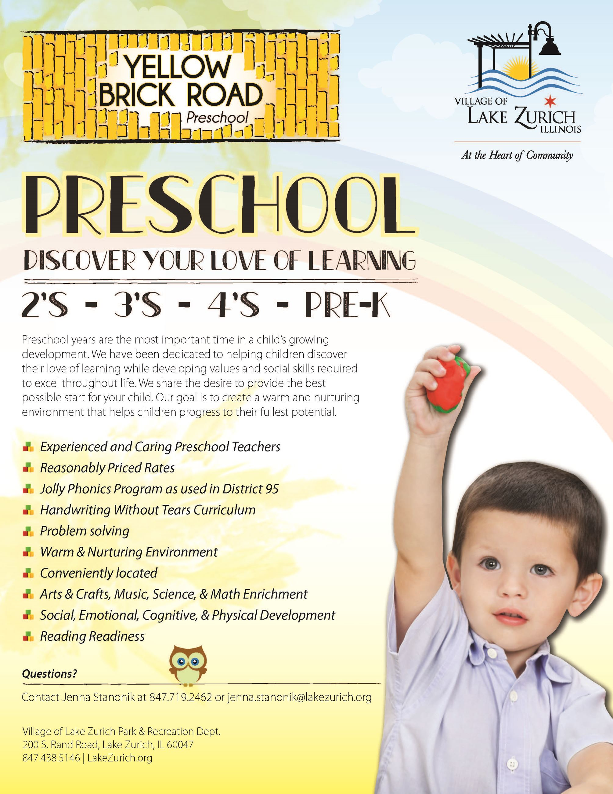 Yellow Brock Road Preschool