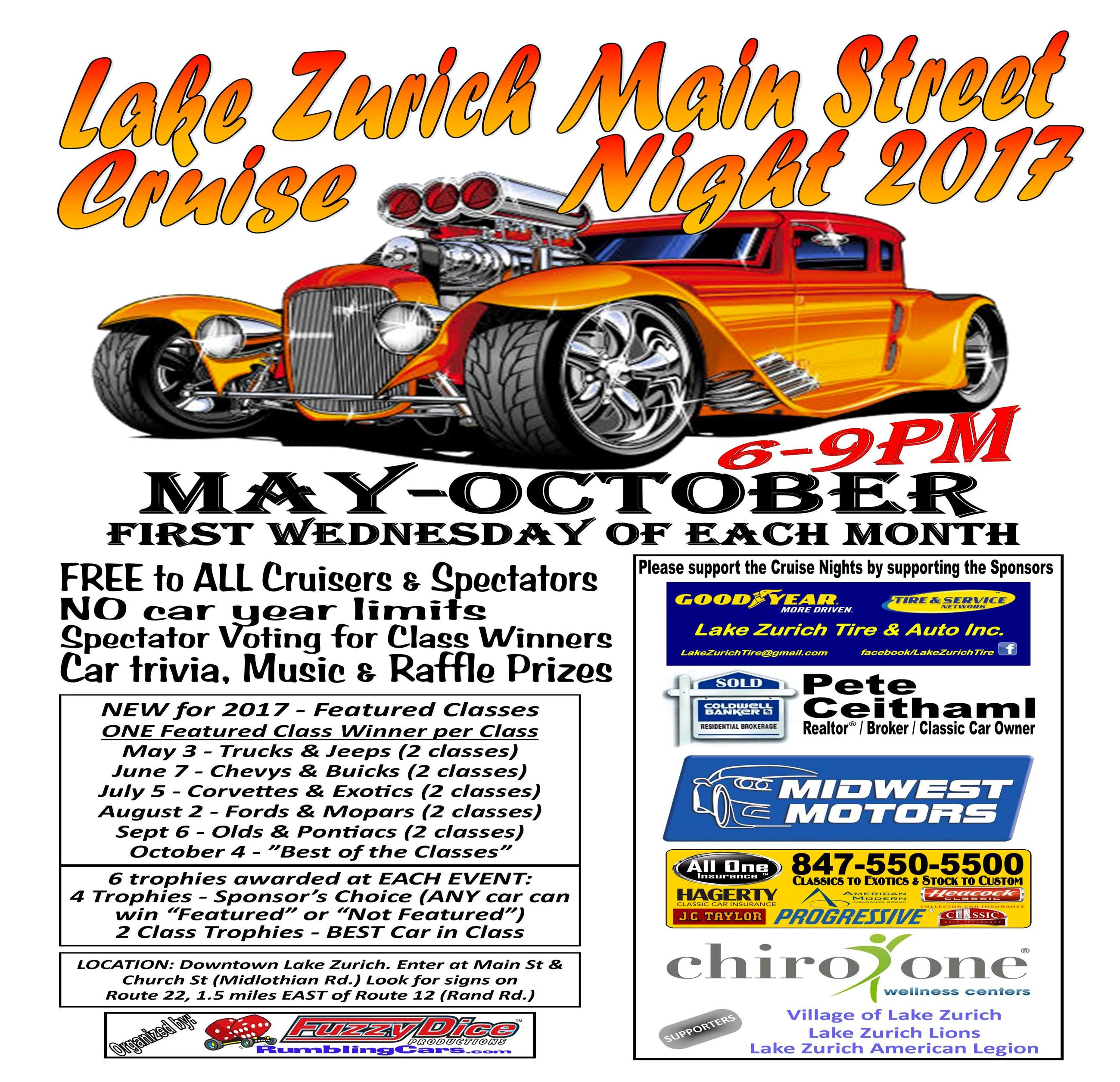 Lake Zurich Cruise Night
